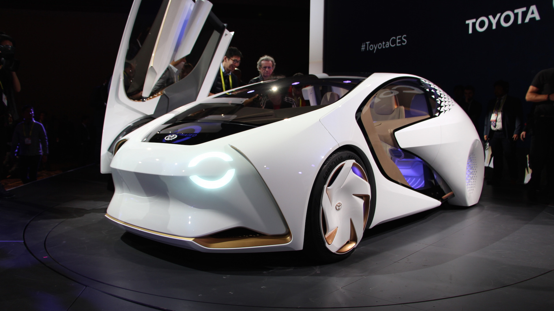 concept cars at CES 2017