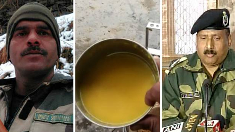 BSF denies allegations of poor quality food for Indian soldiers