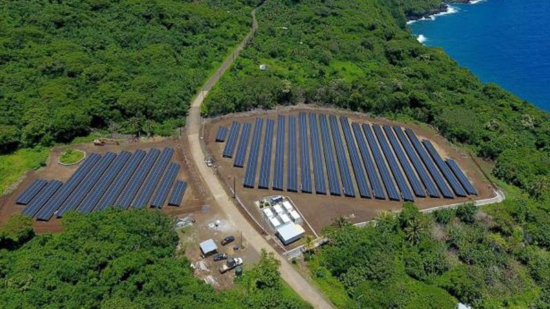 Solar panel setup vs diesel generator setup