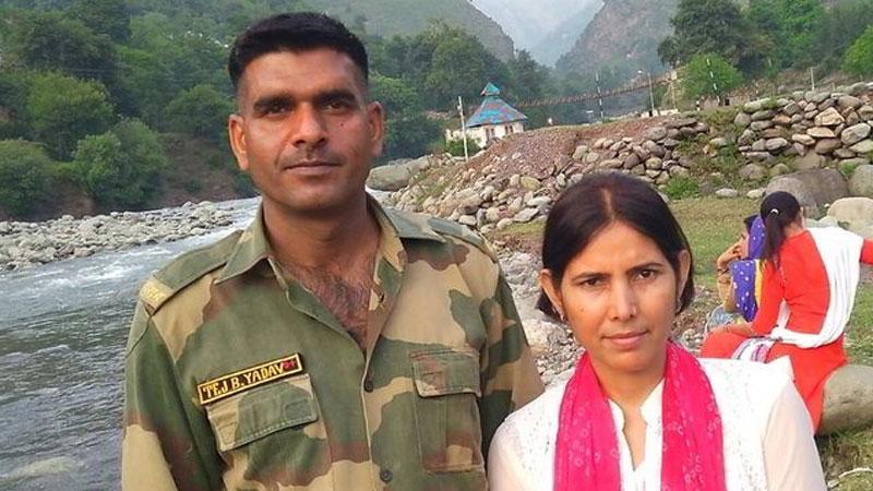 Tej Bahadur Yadav wife video