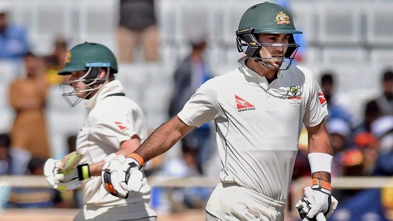 India vs Australia 3rd Test: Smith, Maxwell lead Australian charge