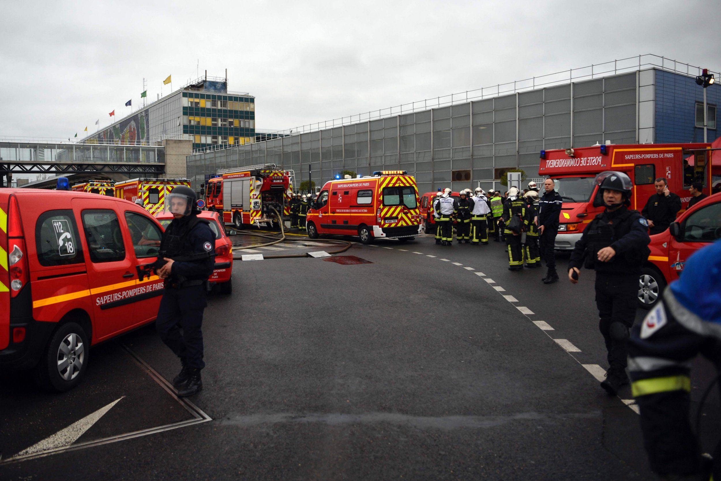 Paris airport shooting