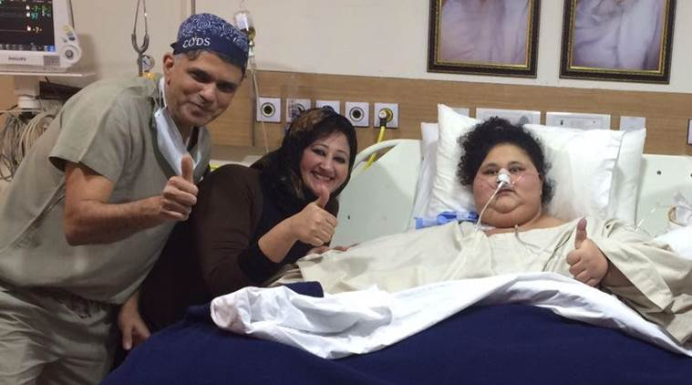 World's heaviest woman Eman Ahmed weight brought down to 358 kgs