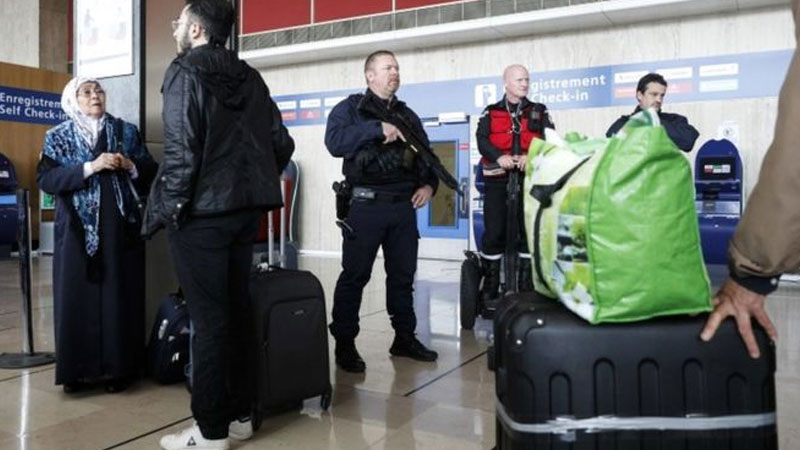 Drugs and alcohol found in Orly airport gunman's blood