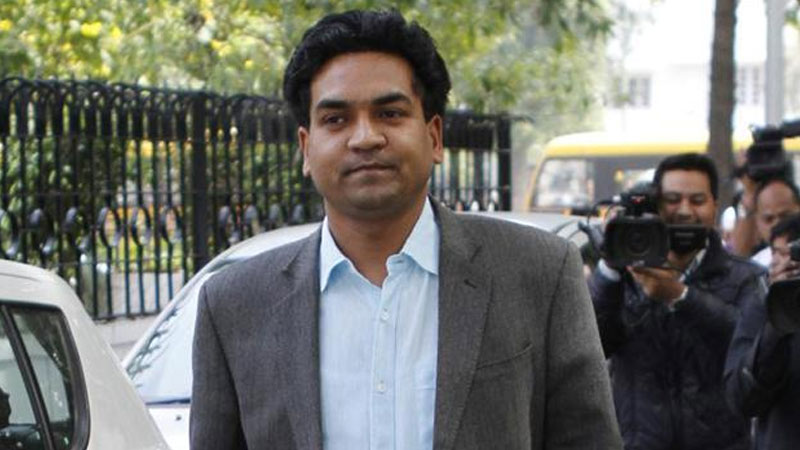 AAP Minister Kapil Mishra sacked from the party post MCD poll debacle