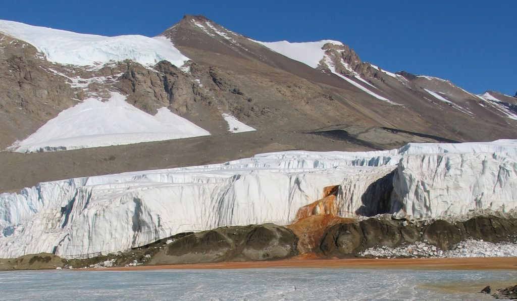Scientists Uncover the century-old mystery of Antarctica's Blood waterfall