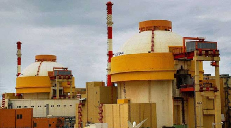 The second unit of the Kudankulam Nuclear Power Project (KNPP) has been shut down