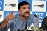 Sanjay Singh says BJP is making consiparicies to finish AAP