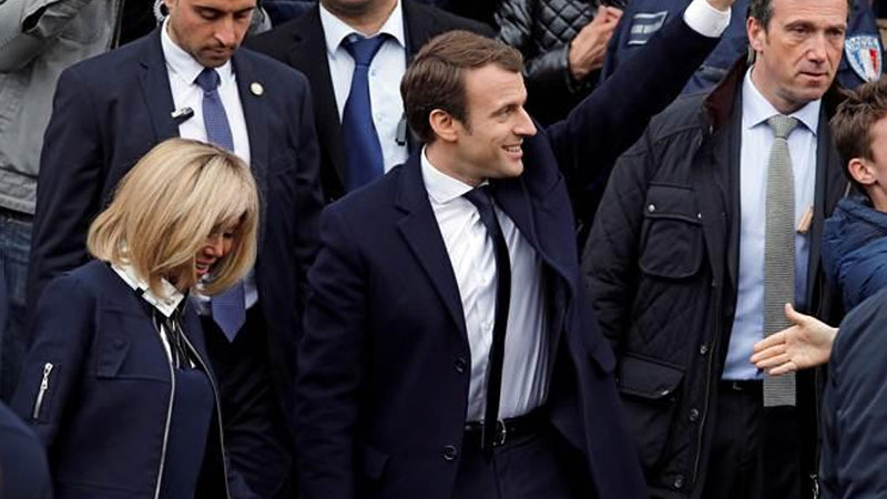Global leaders wish Emmanuel Macron on projected victory in French Presidential polls