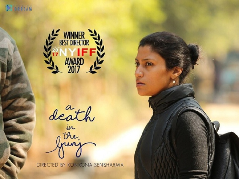 Konkona Sen Sharma has been awarded as the Best Director for her debut directorial film A Death in the Gunj