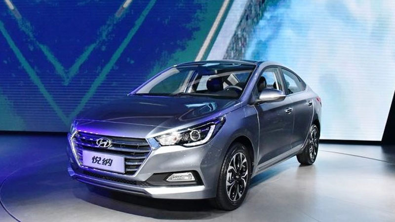 New Hyundai Verna 2017 spotted on Indian roads