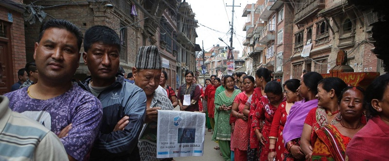 Nearly five million Nepalis on Sunday are voting in the first phase of the much awaited local elections