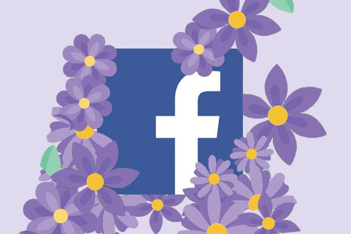 Facebook brings back purple flower emoji reaction to thank moms on Mother's Day