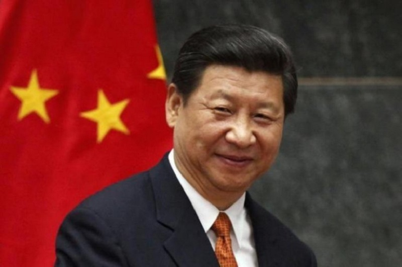 Chinese President Xi Jinping on Monday urged world leaders to coordinate policies on development