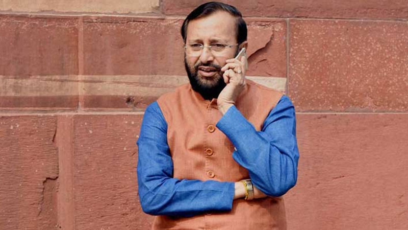 Union Minister of Ministry of Human Resource Development (MHRD) Prakash Javadekar