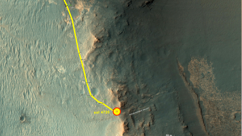 NASA's Mars rover Opportunity reaches fluid-carved valley's origin, begins study