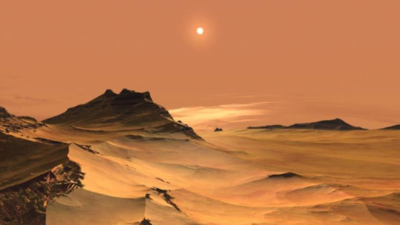 Heavy rainfall on Mars (Red Planet) reshaped its surface billions of years ago: Study