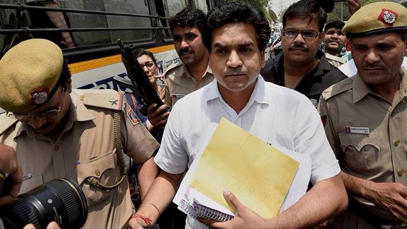 Kapil Mishra posts fresh allegations on Delhi Chief Minister Arvind Kejriwal