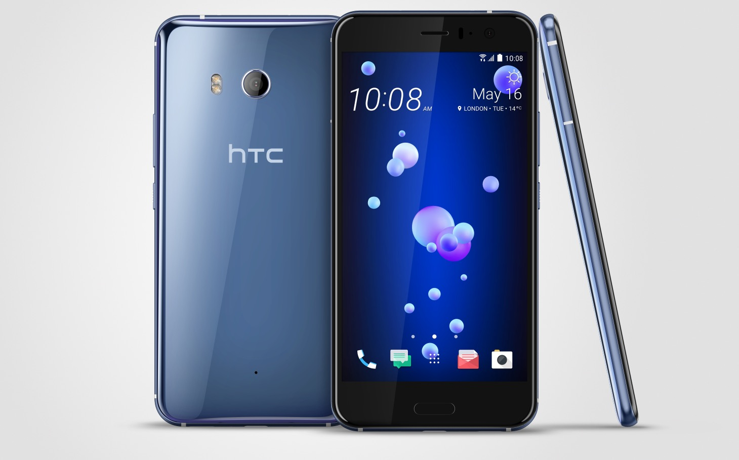 HTC U11smartphone launched with Android 7.0 Nougat; Read Full phone specifications