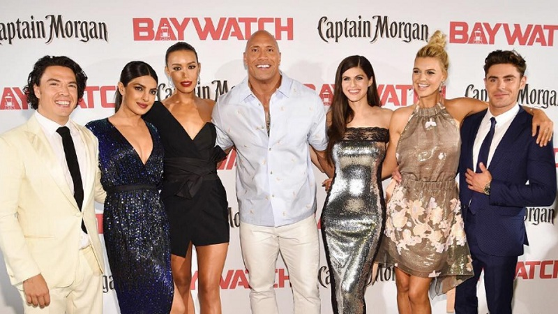 Priyanka's co-star in Baywatch Dwayne Johnson praised his co-starts in the film