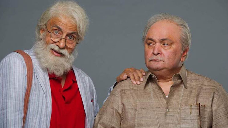 '102 Not Out' First look: Adorable! Big B and Rishi Kapoor as father-son