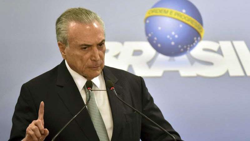 Brazil President Michel Temer refuses to resign