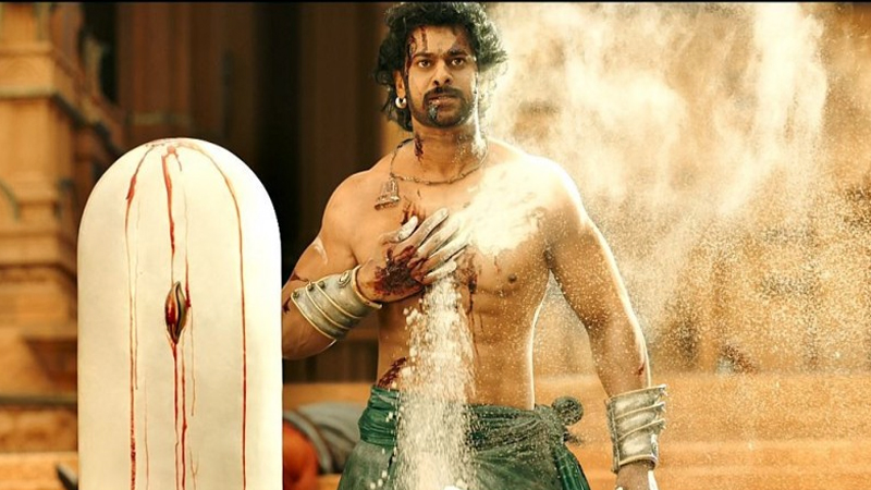Prabhas in a still from Baahubali 2 the conclusion