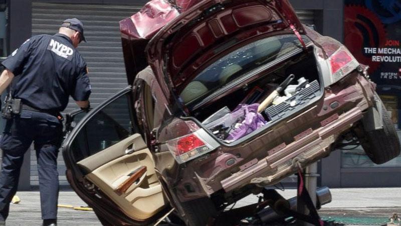 Richard Rojas identified as Times Square car crash suspect