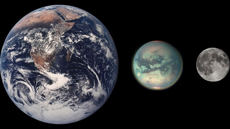 Saturn's moon Titan evolved more like Mars than Earth, show river maps