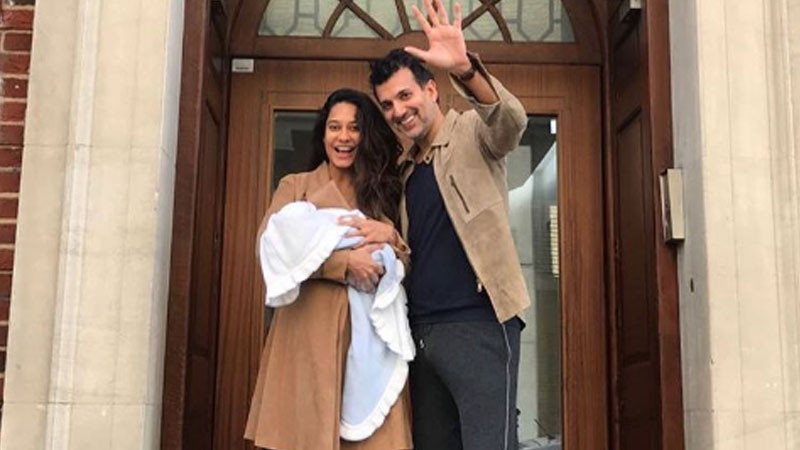 Picture: Lisa Haydon blessed with baby boy, names him Zack Lalvani