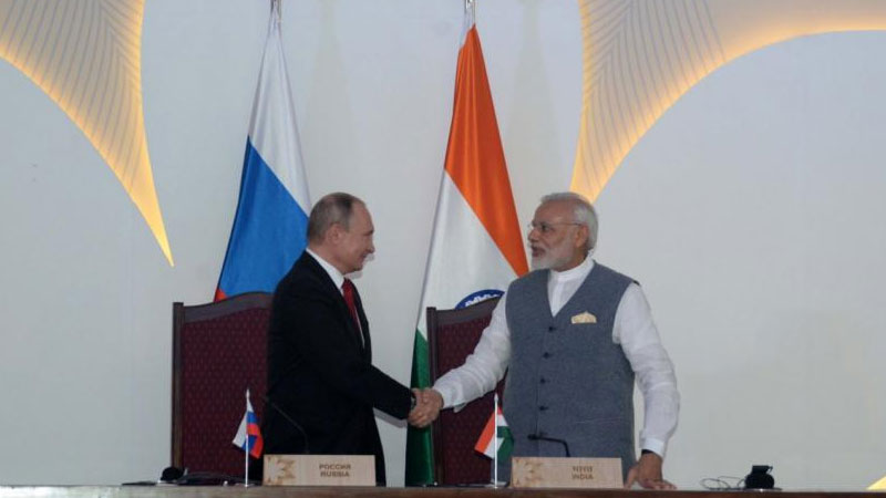 FULL TEXT: India-Russia joint statement after signing St Petersburg Declaration