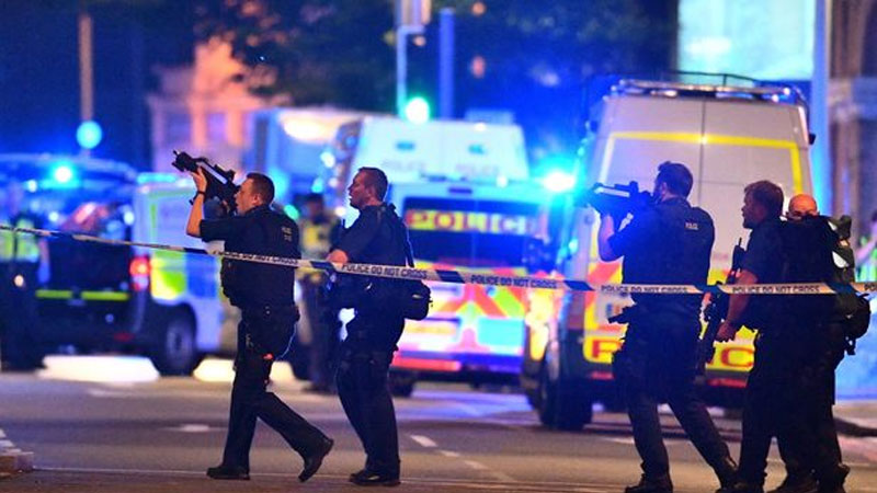 London Bridge terror attackers shouted 'this is for Allah': Eyewitness