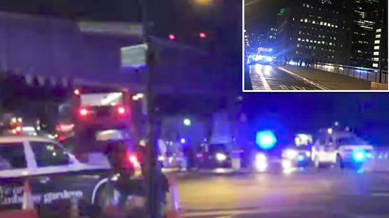 London Attack: 1 killed, 20 injured as a van ploughs into pedestrians