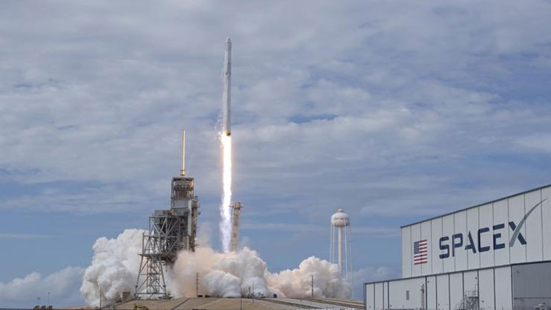 SpaceX launches Chinese experiment to test effect on DNA in space