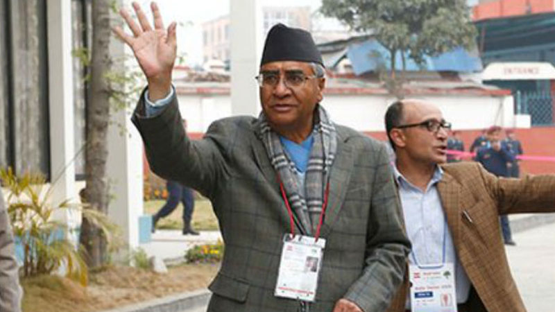 Sher Bahadur Deuba becomes sole candidate for Prime Minister post in Nepal