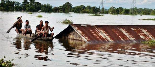 Floods and landslides hit Assam: 13,000 people affected across 28 villages in Assam's districts