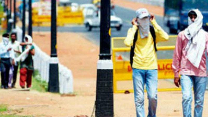 Delhi burns at 47 degrees on Sunday, no respite till Tuesday