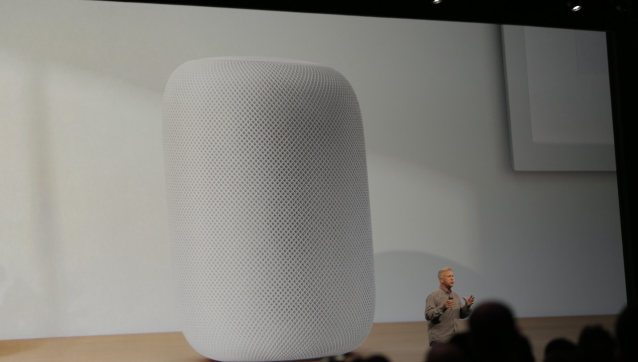 Apple WWDC 2017: Apple introduces smart compact music speaker 'HomePod' at big event