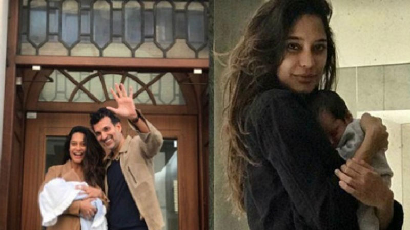 New picture of Lisa Haydon with son Zack Lalvani goes viral and it's too adorable