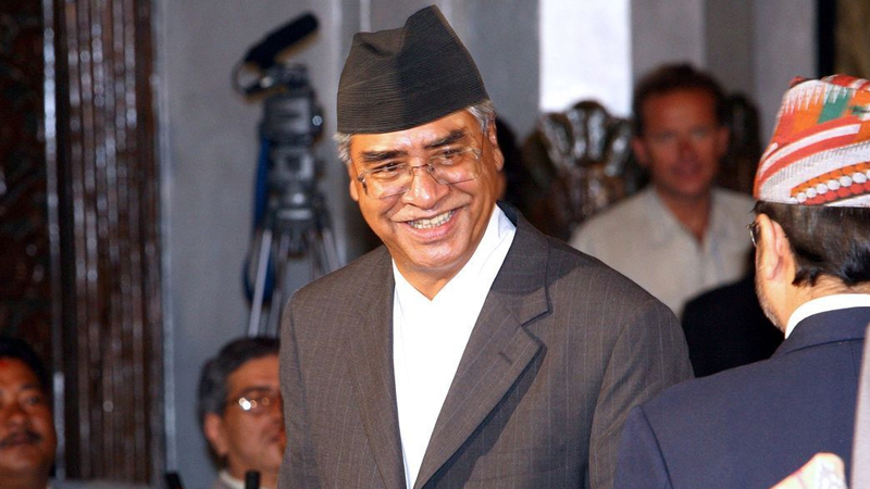Sher Bahadur Deuba elected New Prime Minister of Nepal