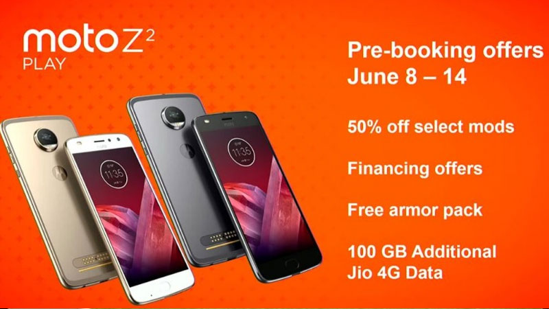 Moto Z2 play to comes in India on June 15: Price, specifications