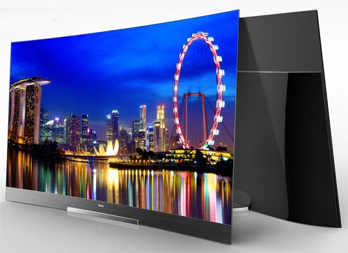 Haier 4K-curved TVs launched in india with panoramic vision and better visual experience