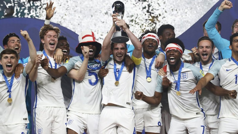 FIFA U-20: England lift world cup for first time