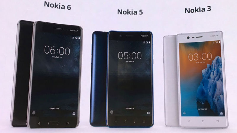 Nokia 6, Nokia 5, Nokia 3 launched in India: All you need to know