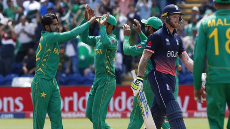 Pakistan beat England by eight wickets to reach Champions Trophy final