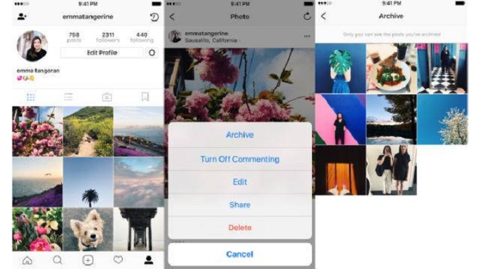 Facebook-owned Instagram has introduced a new feature called Archive