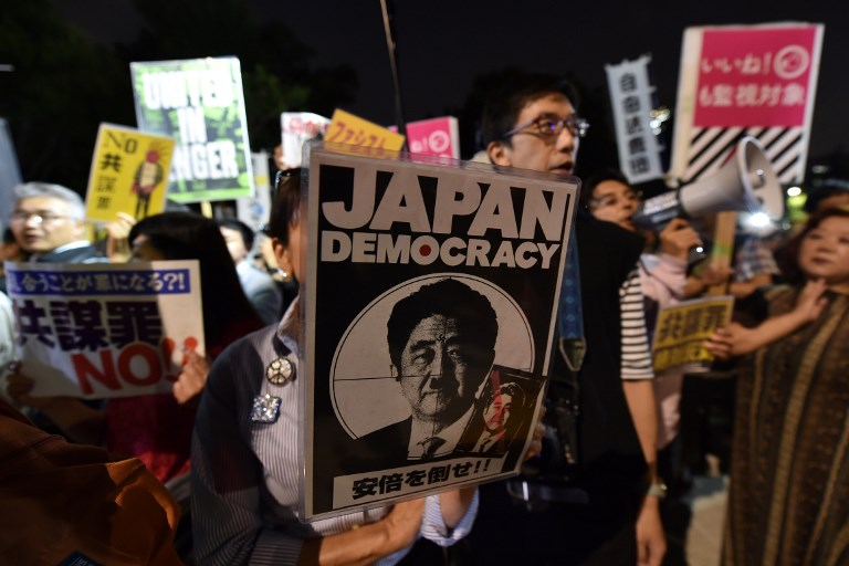 Japan's anti-terrorist conspiracy bill: All you need to know