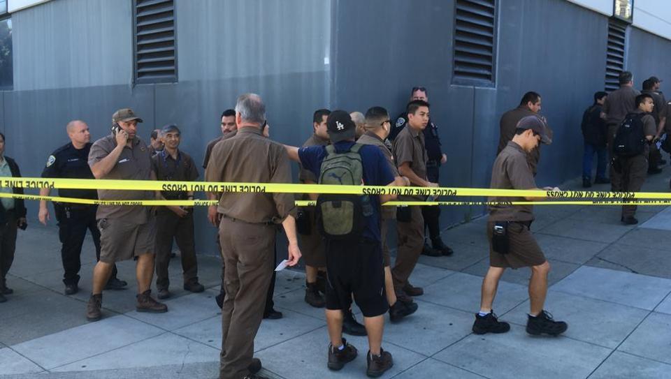 Four killed in gunfire at San Francisco UPS facility
