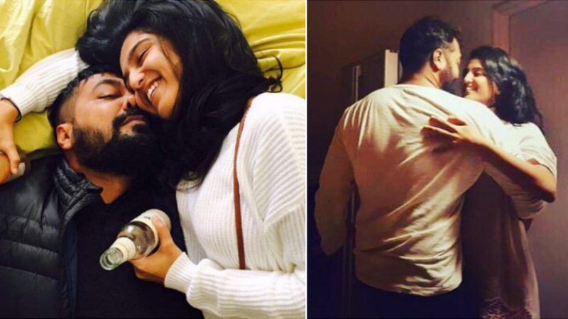 Check out! Anurag Kashyap's lovey-dovey pictures with Shubhra Shetty