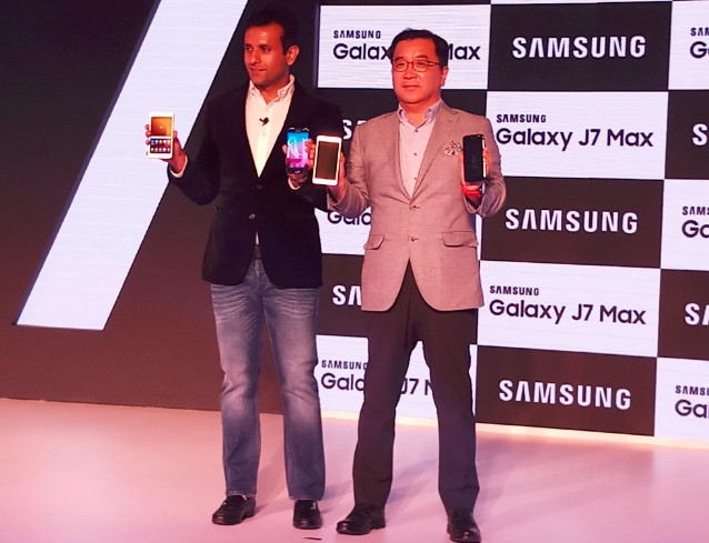 Samsung Galaxy J7 Pro and J7 Max unveiled in india, available from June 20( Image:Samsung Twitter)